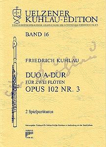 Syrinx Nr. 139 Friedrich Kuhlau Duo A-Dur op.102,3 2 Flöten
