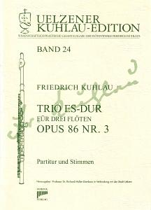 Syrinx Nr. 148 Friedrich Kuhlau Trio Es-Dur op.86,3 Trio ES-Dur für drei Flöten op. 86 Nr. 3 3 Flöten