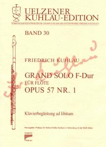 Syrinx Nr. 157 Friedrich Kuhlau Grand Solo F-Dur Op.57,1