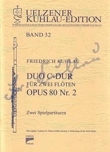 Syrinx Nr. 164 Friedrich Kuhlau Duo C-Dur op.80,2 2 Flöten