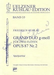 Syrinx Nr. 172 Friedrich Kuhlau Duo g-moll op.87,2 2 Flöten