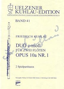 Syrinx Nr. 182 Friedrich Kuhlau Duo e-moll op.10a,1 2 Flöten