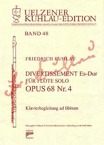 Syrinx Nr. 190 Friedrich Kuhlau Divertissement Es-Dur Op.68,4