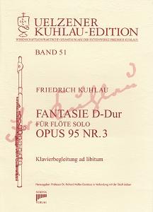 Syrinx Nr. 196 Friedrich Kuhlau Fantasie D-Dur op.95,3