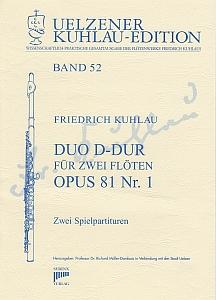Syrinx Nr. 197 Friedrich Kuhlau Duo D-Dur op.81,1 2 Flöten