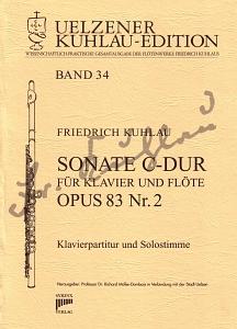 Syrinx Nr. 171 Friedrich Kuhlau Sonate C-Dur für Klavier und Flöte op. 83 Nr. 2 Sonate C-Dur op.83,2 für Klavier und Flöte