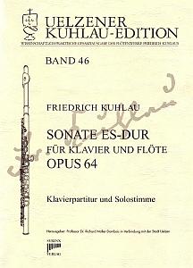 Syrinx Nr. 188 Friedrich Kuhlau Sonate Es-Dur für Klavier und Flöte op. 64
