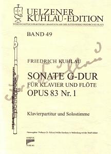 Syrinx Nr. 191 Kuhlau Sonate G-Dur für Klavier und Flöte op. 83 Nr. 1