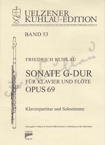 Syrinx Nr. 198 Friedrich Kuhlau Sonate G-Dur op. 69 für Klavier und Flöte