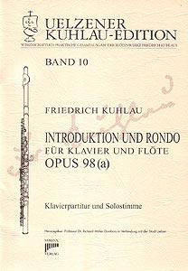 Syrinx Nr. 118 Friedrich Kuhlau Introduktion und Rondo op.98 (a) für Klavier und Flöte