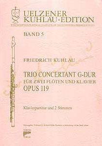 Syrinx Nr. 112 Friedrich Kuhlau Trio Concertant G-Dur op. 119 für zwei Flöten und Klavier