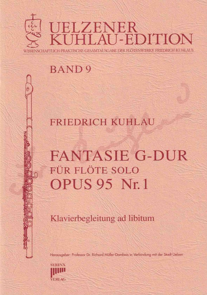 Syrinx Nr. 117 Friedrich Kuhlau Fantasie G-Dur op.95,1 Flöte solo