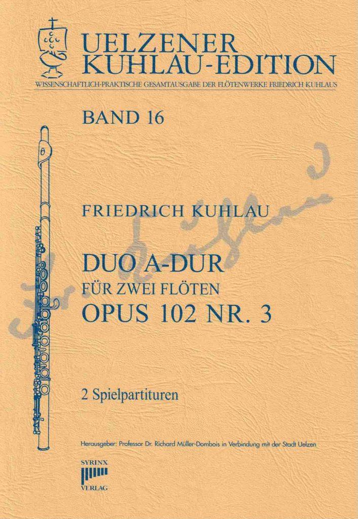 Syrinx Nr. 139 Friedrich Kuhlau Duo A-Dur op. 102,3
