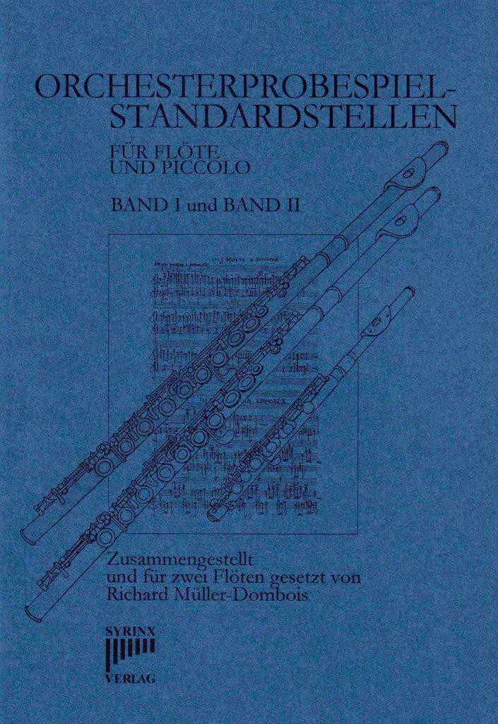 Syrinx Nr. 65 / Orchesterprobespiel-Standardstellen (Flöte & Piccolo)  Zusammengestellt für 2 Flöten (Band 1 & 2)