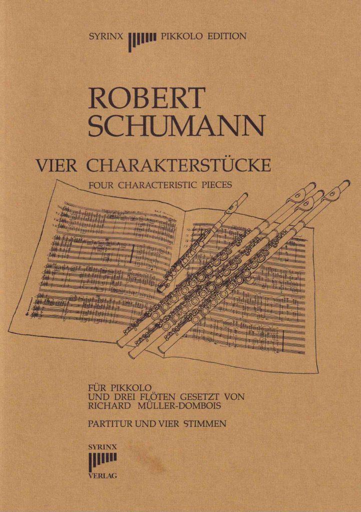 "Syrinx Nr. 45 Robert Schumann ""Vier Charakterstücke"""
