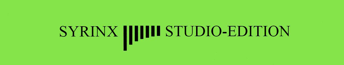 Syrinx-Studio-Edition 2 Flöten 2 Flutes