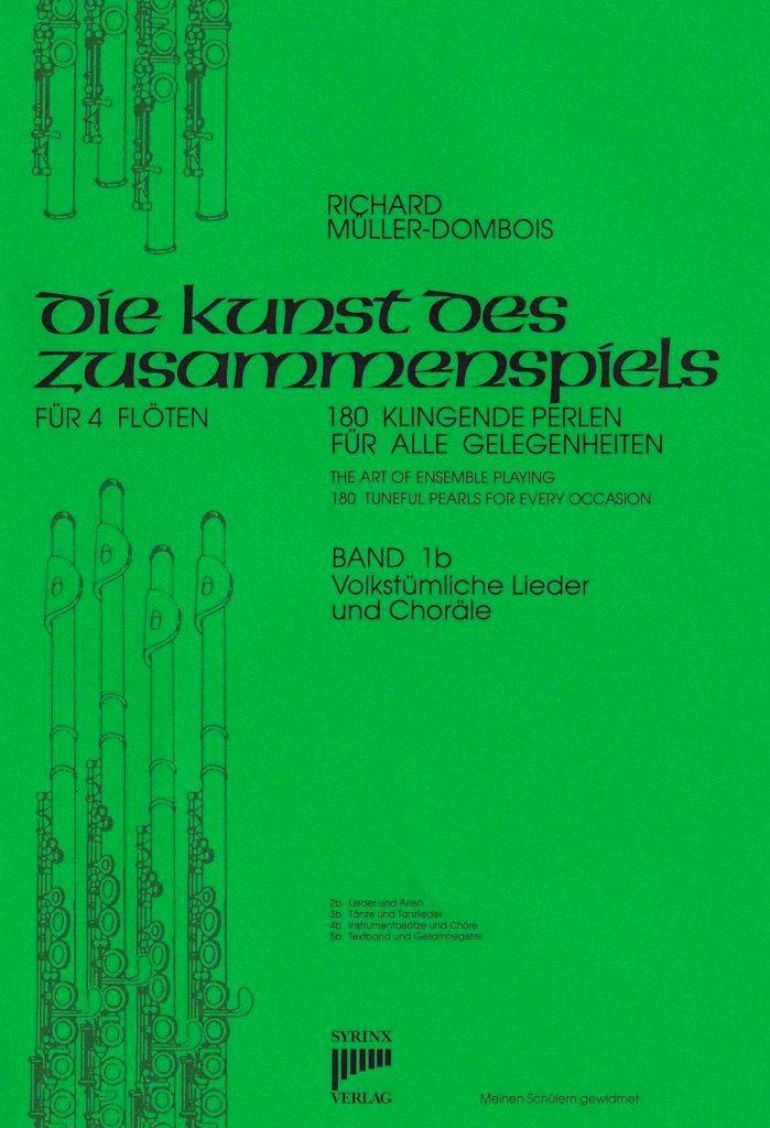 Syrinx Nr. 31 / Die Kunst des Zusammenspiels für 4 Flöten Band 1b Volkstümliche Lieder und Choräle