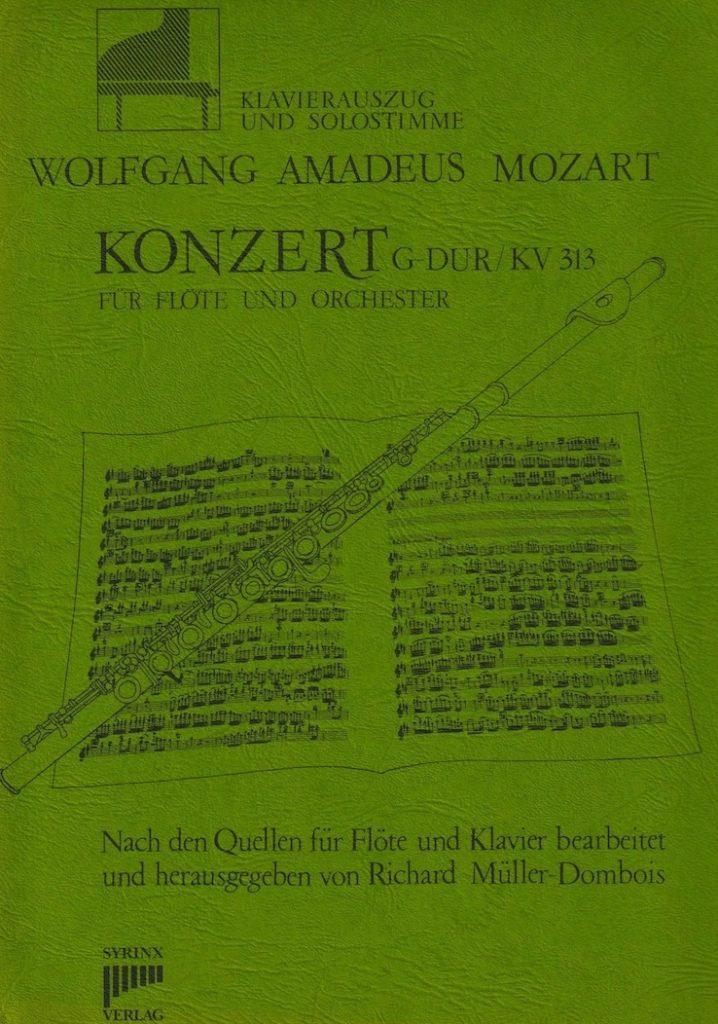 Syrinx Nr. 22 / W.A. Mozart Konzert G-Dur KV 313 (Flöte/Klavier)